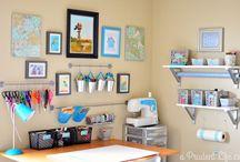 Craft/Sewing Room / by Robin Martin