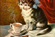 "Cats: Paintings / ""There are no ordinary cats."" ~ Colette"