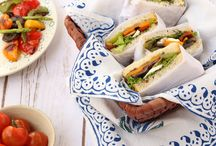 S A N D W I C H E S / Basiligo's healthy, mess- free sandwiches are filling and flavour bursting.