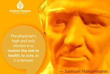 Samuel Hahnemann's Homeopathic Philosophy
