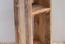 Tables de nuit / Boîtes bois