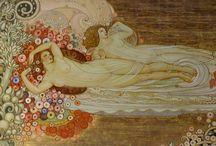 Galileo Chini / Galileo Andrea Maria Chini (Firenze, 2 dicembre 1873 – Firenze, 23 agosto 1956) è stato un pittore, architetto, scenografo, grafico e ceramista italiano, uno dei protagonisti dello stile Liberty[