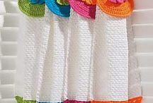Serviettes crochet