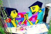 Artsy / Mural in Art exhibition, Galeri Salihara