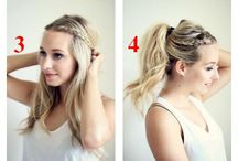Work that ponytail own that updo!  / by Kelsey Silva