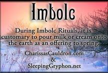Imbolc / Imbolg / Candlemas ~ gearing up for spring