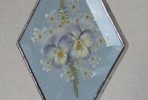 flores en resina