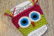 Crocheting-Coffee Cozy