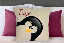 Wish list: penguin pillow