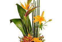 parallel flower design
