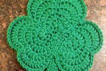 crochet - St.Patrick's day