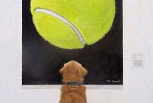 Dog Art / Other artists work featuring our furry friends