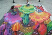 Street Art Optical illusions