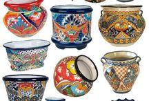 Talavera pottery Mexican