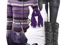 Purple-the many ways of wearing it