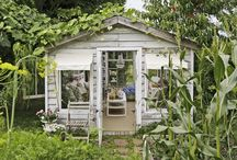 Garden Hideaway / by Andrea Pittam at Kiss the Frog x