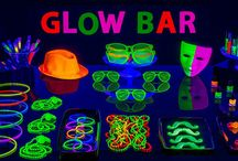 Dance glow party
