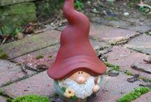 Garden Gnomes!!! / Garden Gnomes / by Rebecca Ware