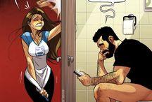 Real life comics