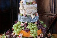 Cheese Wheel Wedding Cakes / Cheesy wedding cakes!