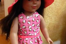 Duct tape doll clothes
