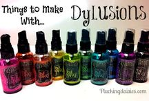 Dylusion inks