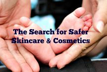 Safer Skincare & Cosmetics / Options for safer and non-toxic skincare, bodycare and cosmetic products.