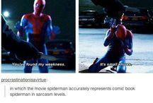 super hero stuff  (marvel, etc.)