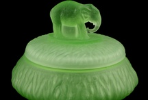 Green can be cool and friendly-like / by Charmings Vintage Glass and Collectibles
