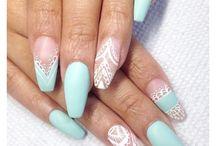 Nails: tiffany! / Nails