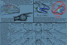 Creature Anatomy / A selection of illustrations, sketches, model sheets and tutorials by various artists. Creature Anatomy, tutorials, references, drawing, male, female, animals, figure, drawing, design.
