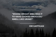 Jim Gaffigan - Quotes of Glory / Funny Quotes