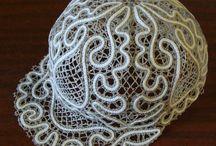 Bride Hat lace. Wifey Hat. Bachelorette Hat. от VologdaShop