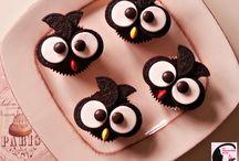 Cake design - Gâteaux déco/originaux / Des gâteaux au look sympa, décorés qui ravissent les yeux avant d'enchanter les papilles.