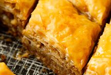 Baklava and syrup based desserts