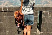 Travel Outfit Ideas / Fashion ideas and inspirations during travel for petite girls.