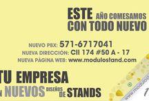 ModuloStand / Conoce toda la información y actualizaciones de todo lo que pasa en Modulostand SAS