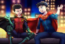 robin x superboy