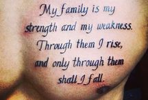 Family tatoos