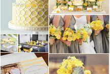 Sunshine Yellow Wedding Inspiration