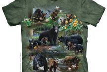 It's Not Easy Being Green (Everything Green) / These are just some of the green t-shirts & products with animal and fantasy art prints we have in our Australian online store. Drop by to see other colours!
