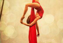 Silk poses