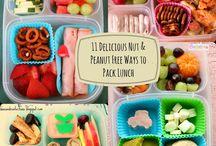 Nut Free Preschool Lunches