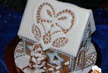 Gingerbread house / Пряничные домики