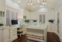 Ideas: Sewing and Craft Room