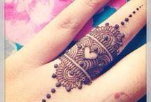 henna a tetování