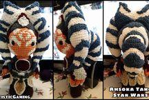 Ahsoka Tano Fan Creations / Custom-made Ahsoka Tano arts and crafts, fan videos, action figure photo shoots.