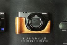 Sony RX100 M4 / M3 leather case / Sony RX100 M4 / M3 leather case by KAZA , find out more at www.kaza-deluxe.com
