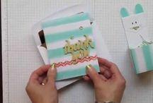 Stampin' Up! - Paper Pumpkin / Het is een abonnement, waarbij je elke maand een doosje met een compleet materialenpakket ontvangt voor het maken van doosjes en wenskaarten. Paper Pumpkin is momenteel alleen in Amerika verkrijgbaar.