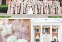 Soft Pink/Soft Grey Wedding Theme